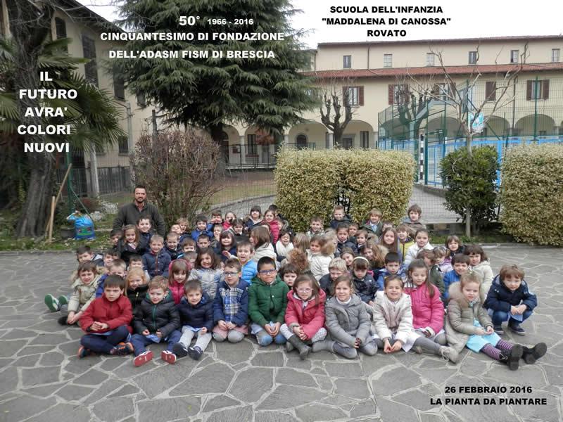 Scuola dell'Infanzia Maddalena di Canossa . Rovato